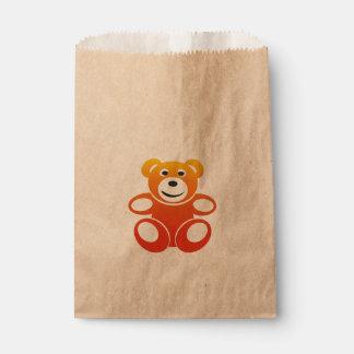Lächelnder Sommer-Teddybär Geschenktütchen
