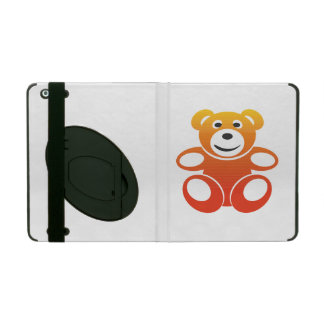 Lächelnder Sommer-Teddybär Hülle Fürs iPad