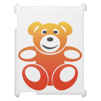 Lächelnder Sommer-Teddybär iPad Hülle