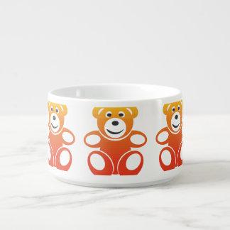 Lächelnder Sommer-Teddybär Kleine Suppentasse