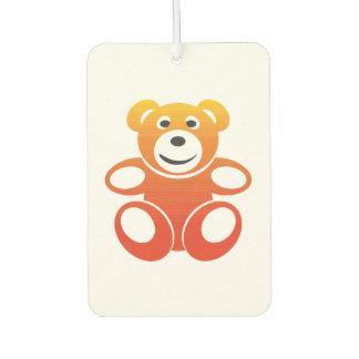 Lächelnder Sommer-Teddybär Lufterfrischer