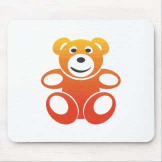 Lächelnder Sommer-Teddybär Mousepad