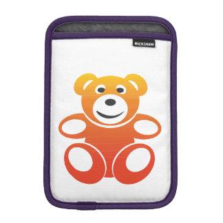 Lächelnder Sommer-Teddybär Sleeve Für iPad Mini