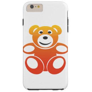 Lächelnder Sommer-Teddybär Tough iPhone 6 Plus Hülle