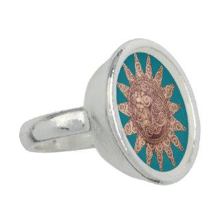 Lächelnder Sun-Ring Ring