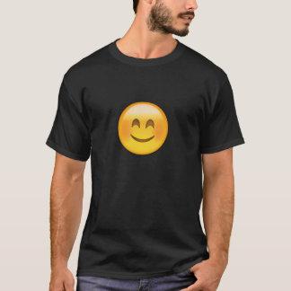 Lächelndes Gesicht mit lächelnden Augen Emoji T-Shirt