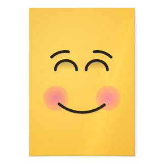 Lächelndes Gesicht mit lächelnden Augen Magnetische Karte