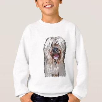Lächelndes Kitz Briard Sweatshirt