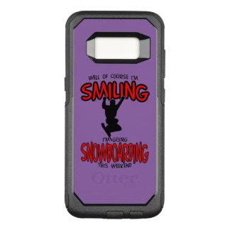 Lächelndes SNOWBOARDING-Wochenende 2.PNG OtterBox Commuter Samsung Galaxy S8 Hülle