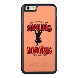Lächelndes SNOWBOARDING-Wochenende 2.PNG OtterBox iPhone 6/6s Plus Hülle