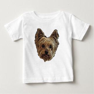 Lächelndes Yorkie Baby T-shirt