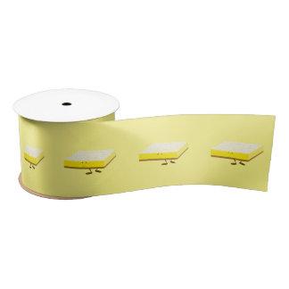 Lächelndes Zitronen-Bar Satinband