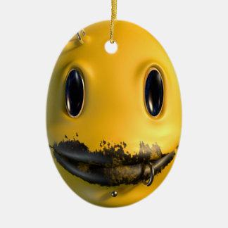 Lächelnfreak Keramik Ornament