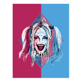Lachen der Selbstmord-Gruppen-| Harley Postkarte