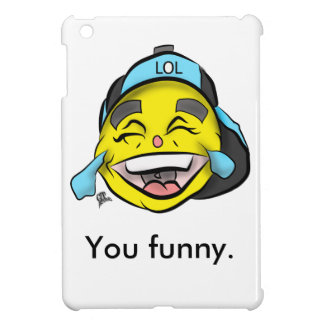 Lachen heraus lautes Emoji iPad Mini Hülle