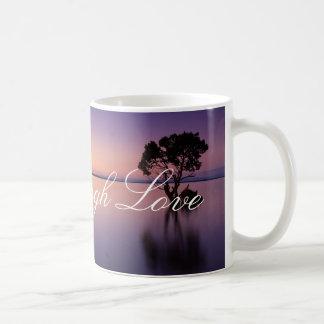 Lachen-Liebe-leben friedliche Kaffeetasse