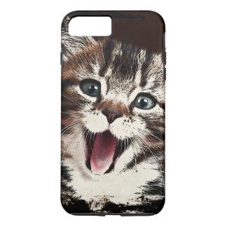 Lachende Katze iPhone 7 Plus Hülle