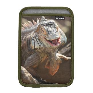 Lachende Leguan-Fotografie Sleeve Für iPad Mini