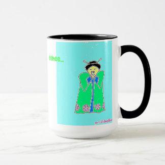 Lachende Lemurian Kaffee-Tasse Tasse