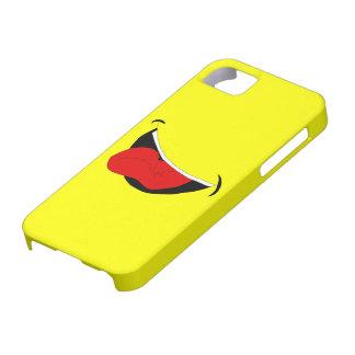 Lachende Mund iPhone 5 Abdeckung iPhone 5 Schutzhülle