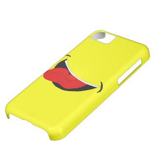 Lachende Mund iPhone 5 Abdeckung iPhone 5C Hülle
