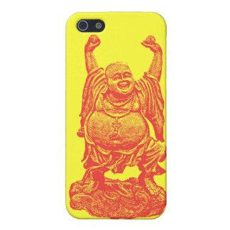 Lachender Buddha rot iPhone 5 Hülle