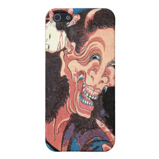 Lachender Dämon Warai-Hannya, Hokusai iPhone 5 Case