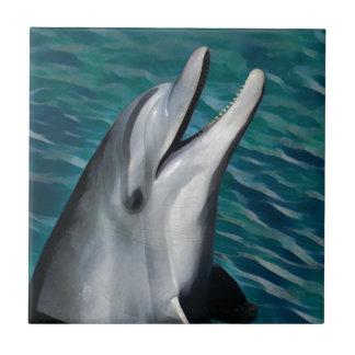 Lachender Delphin Fliese