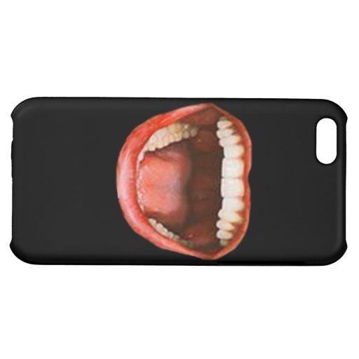 Lachender Mund iPhone Fall Hüllen Für iPhone 5C