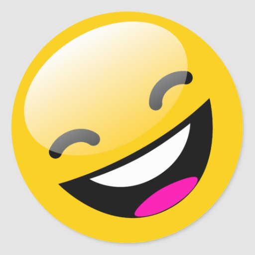 Lachender Smiley Emoji