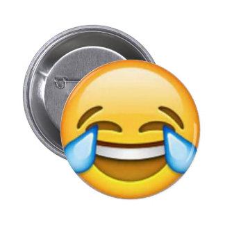 Lachendes emoji Button