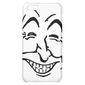 Lachendes Gesicht iPhone 5C Hülle