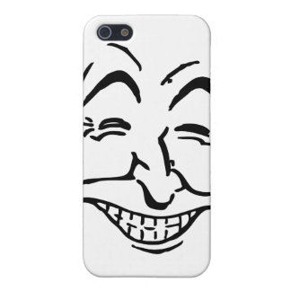 Lachendes Gesicht iPhone 5 Etuis