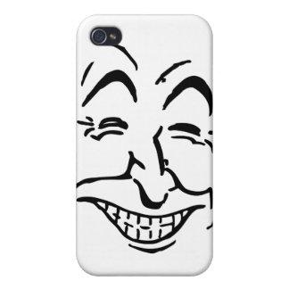 Lachendes Gesicht Schutzhülle Fürs iPhone 4