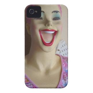lachendes Mannequin iPhone 4 Hüllen