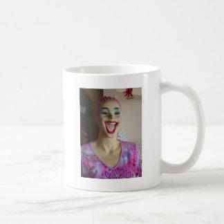 lachendes Mannequin Kaffeetasse