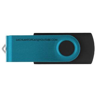 lachlantopcat Silber, 8 GBs, schwarzer usb USB Stick