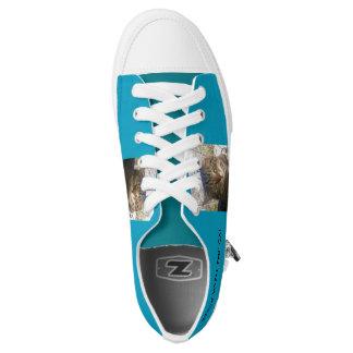 lachlantopcat Zipz niedrige Spitzenschuhe, Niedrig-geschnittene Sneaker