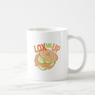 Lachs ich oben kaffeetasse