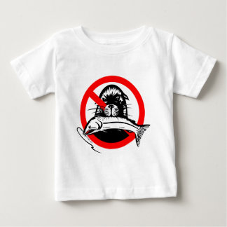 Lachsdieb-Säuglings-T - Shirt