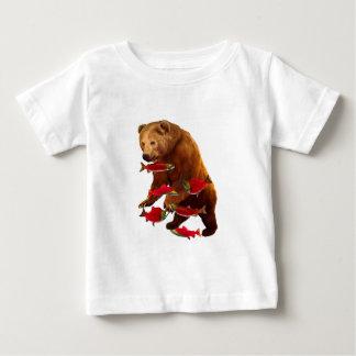 Lachsfischen Baby T-shirt