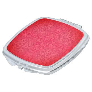 LachsSilk* Gewebe-Entwurf-Multi Formen Taschenspiegel