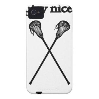 lacrosse13 iPhone 4 Case-Mate hülle