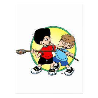 Lacrosse #2 postkarte
