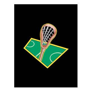 Lacrosse 2 postkarte