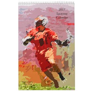 Lacrosse-Kalender 2017 Abreißkalender