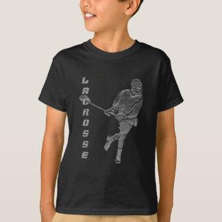Lacrosse-Spieler-T - Shirt kundengerecht