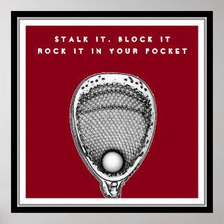 Lacrosse-Tormann Poster