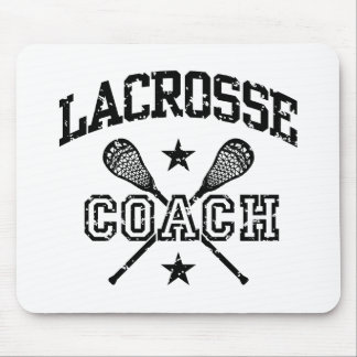 Lacrosse-Trainer Mousepad