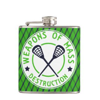 Lacrosse-Waffen der Zerstörungs-Flasche Flachmann
